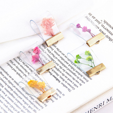 10pcs Dried Flower Charms Eternal flowers Alloy Floating Handmade Sweet Earrings Pendant DIY Jewelry Accessories 20*36mm YZ474