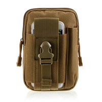 Tactical Molle Pouch Bag EDC Utility Gadget Belt Waist Bag With Cell Phone Holster For IPhone