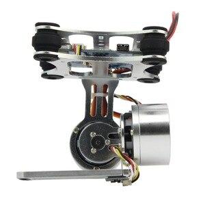 Image 4 - アルミ 2 軸ブラシレスジンバルカメラマウントcontrollプラグ 3/4/5/6/7/8 カメラdjiファントムトレックス 500/550 ドローン