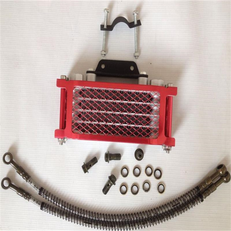 Nice Atv Motorcycle Dirt Pit Bike Pitbike Parts 110cc 125cc 150cc Engine Oil Cooling Radiator Cooler For Honda Crf Ktm Klx Ttr Without Return Atv,rv,boat & Other Vehicle