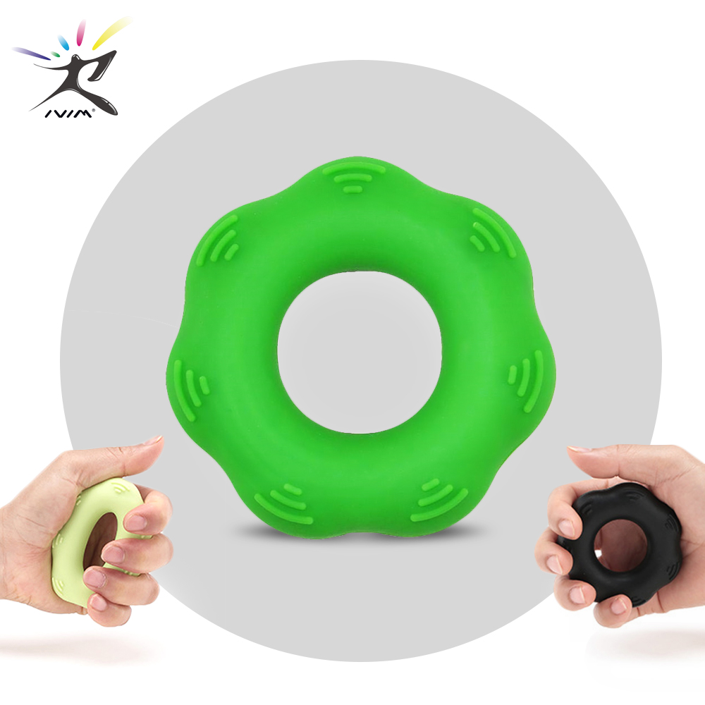 Hand Grip Ring Hand Expander Finger Resistance Band Hand Finger Power Training Stretcher Wrist Exercise Fitness Climbing Train