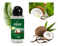 30ML VIRGIN Coconut Oil Extract Cold Pressed Natural Healthy Oil for Aromatherapy Hair&Skin Care /Makeup Remover/Body Message