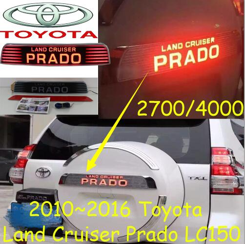 автомобиль-стайлинг,Крейсер, ломая свет,LC150,2700,4000,2011~2016,Сид,Бесплатная доставка!2шт,Крузер задний фонарь,задний фонарь Прадо хром,Прадо