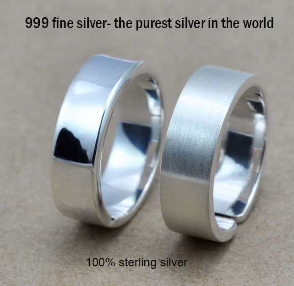 Buy wholesale 100 real pure 999 fine for Fine silver 999 jewelry