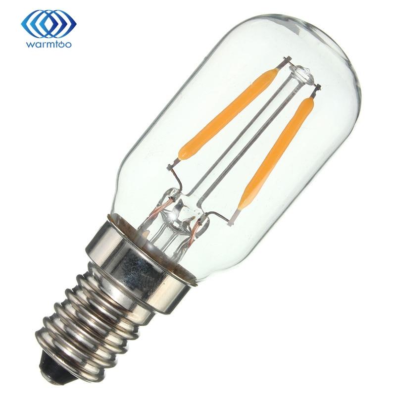 Low power consumption and high illumination E14 2W Edison Style COB LED Lamp Bulbs Light Warm/Pure White 110/220V low power consumption and high illumination e14 2w edison style cob led lamp bulbs light warm pure white 110 220v
