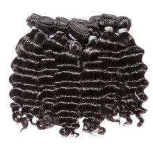 Remy Hair Natural  Wave 10PCS Lot  Human Hair Bundles Free Shipping