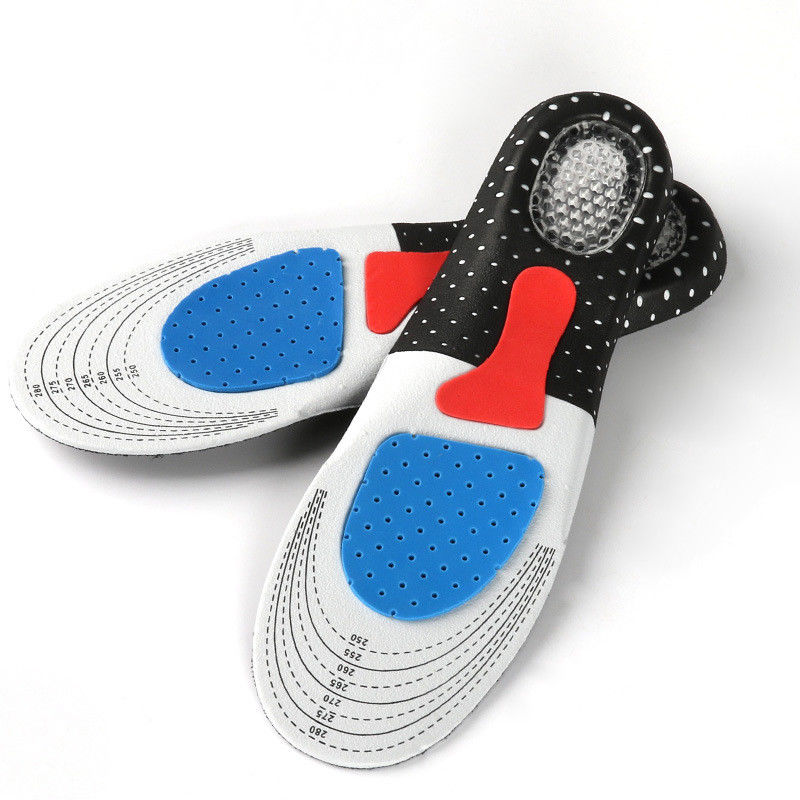 Sport Pad Insoles Cycling Silikone Gel Pad Plantaire Running Outdoor Insoles Plantilla Para Pies Soft Silicone Gel Insoles 40