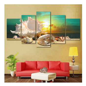 5d diamond painting Blue Beach Sea full square drill LOVE diamond embroidery 5d Shell diamond embroidery crafts painting 5pcs фото