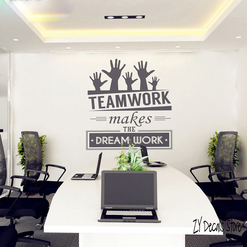 Hot Sale Office Company Wall Stickers Vinyl Decal Art Mural Room