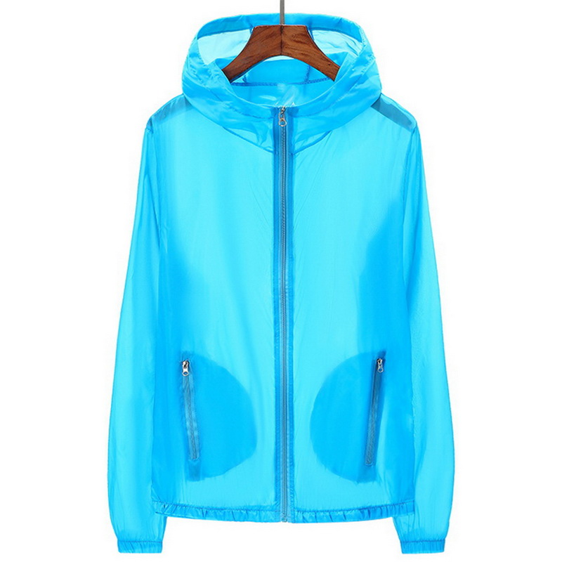 HTB1WgIHcUuF3KVjSZK9q6zVtXXaT Puimentiua Unisex UV sun protection Jackets Coats clothing transparent long sleeve Hoodies shirt beachwear sunscreen cover-