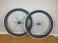 60mm Alloy Wheels Clincher Tubular Roue T800 Carbon Wheelset Carbon Road Bike Wheel V Brake Carbon