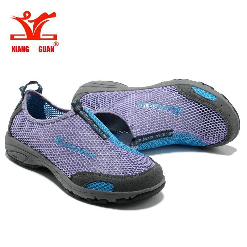 XIANGGUAN Cheap promotion Womens Outdoor Hiking Trekking Shoes Sneakers For Women Breathable Climbing Mountain Shoes for Woman what business should i start