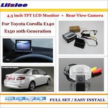 Автомобильная камера для toyota corolla e140 e150 10th generation