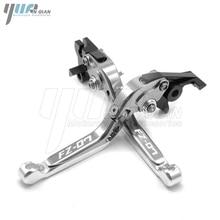 Motorbike CNC Aluminum Adjustable Folding Extendable Brake Clutch Lever For YAMAHA FZ 07 2014 2018
