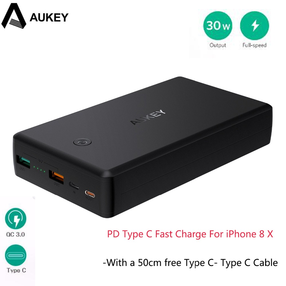 AUKEY Quick Charge 3.0 2 USB Power s
