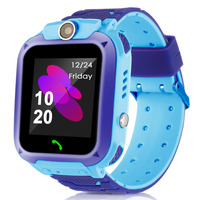 Waterproof Q12 Smart Watch Multifunction Children Digital Wristwatch LBS Baby Watch Phone For IOS Android Kids Toy Gift