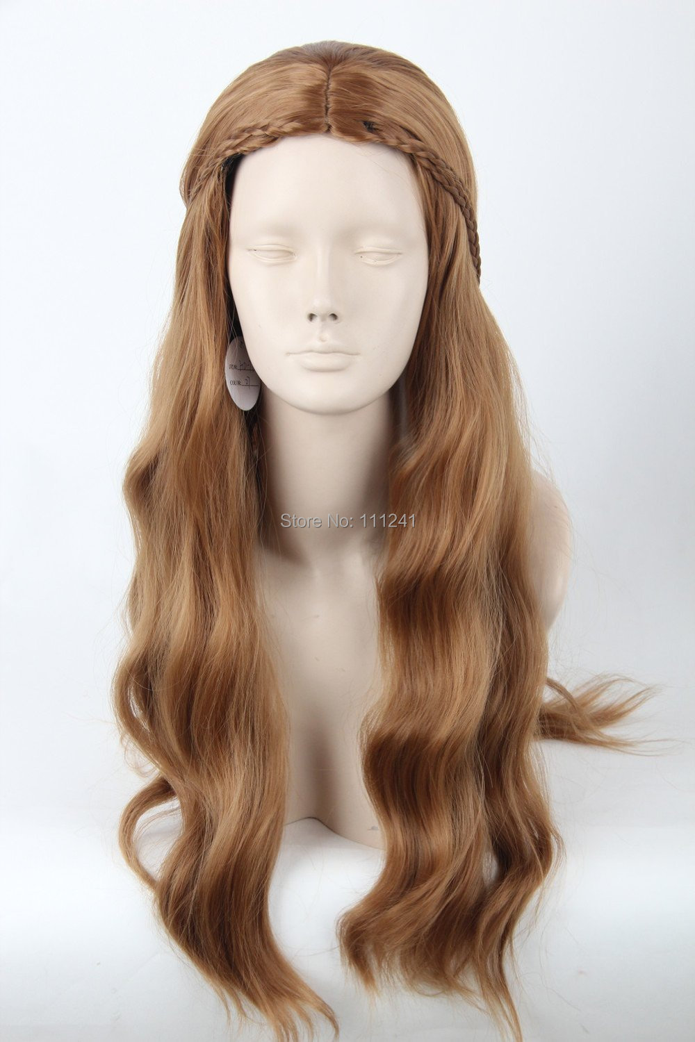 margaery tyrell reviews online shopping margaery tyrell reviews a song of ice and fire actress margaery tyrell wig long wavy brown wig braid cosplay anime wig