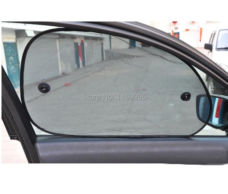 2 шт. 65*38 Черный Сторона автомобилей от солнца заднего стекла авто стекла Зонт Обложка сетки козырек щит экран солнечной защиты
