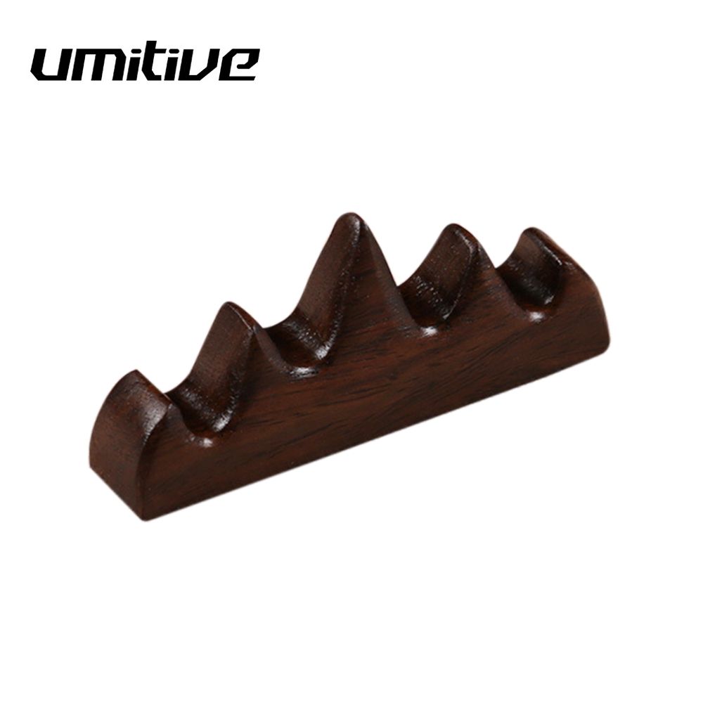 Umitive 1 Pcs Wooden Writing Brush Holder Chinese Calligraphy Pen Holders Office Home Painting Supplies