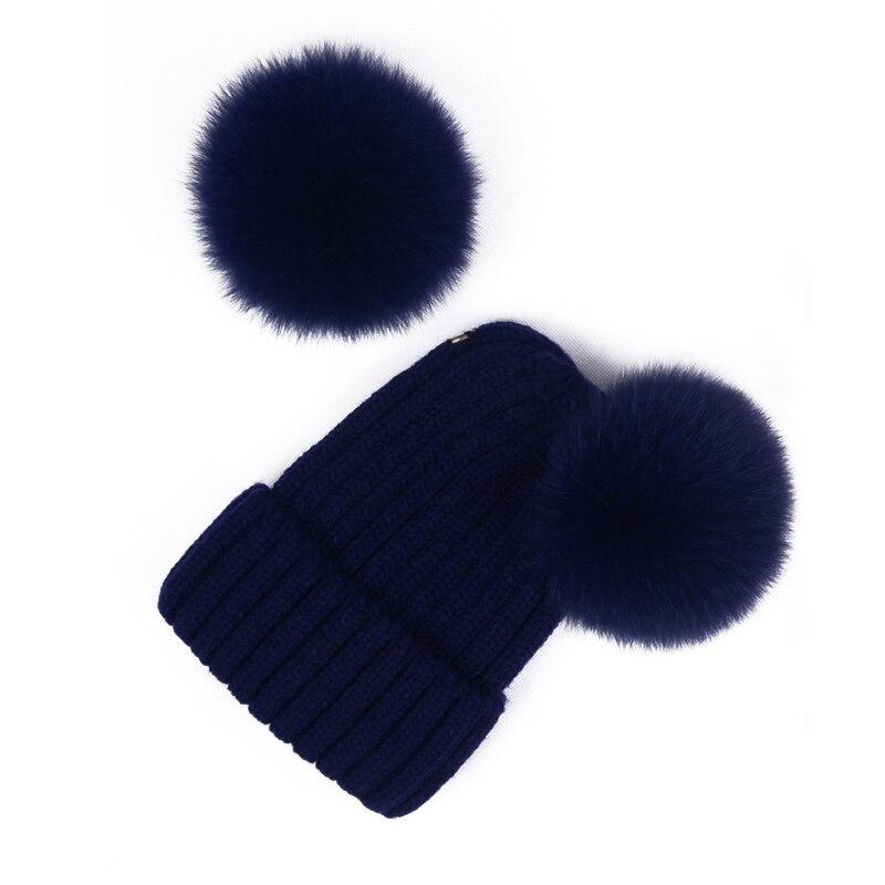 Big Pompom Beanies For Women Winter Warm Caps Knitted Skullies Beanie Fashion Ski Hats Female Cap Gorras Wanoykn Yy17230 Men's Hats