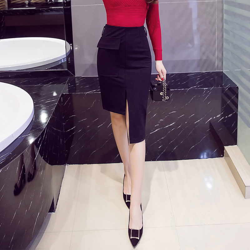 Cheap Wholesale 2018 New Autumn Winter  Hot Selling Women's Fashion Casual  Sexy Skirt G53