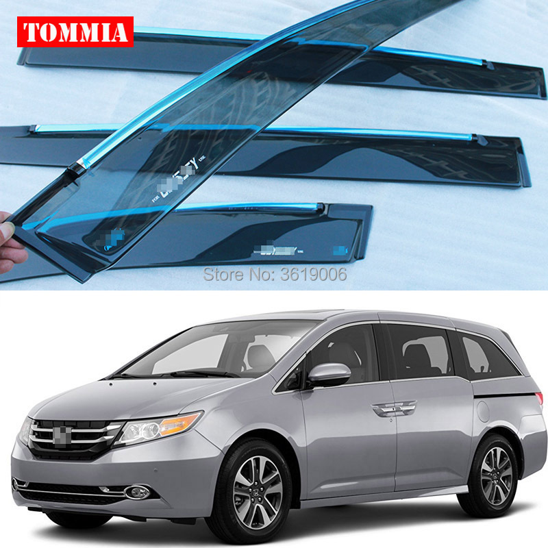 Tommia Brand New For Honda Odyssey 2015 Window Visor Shade