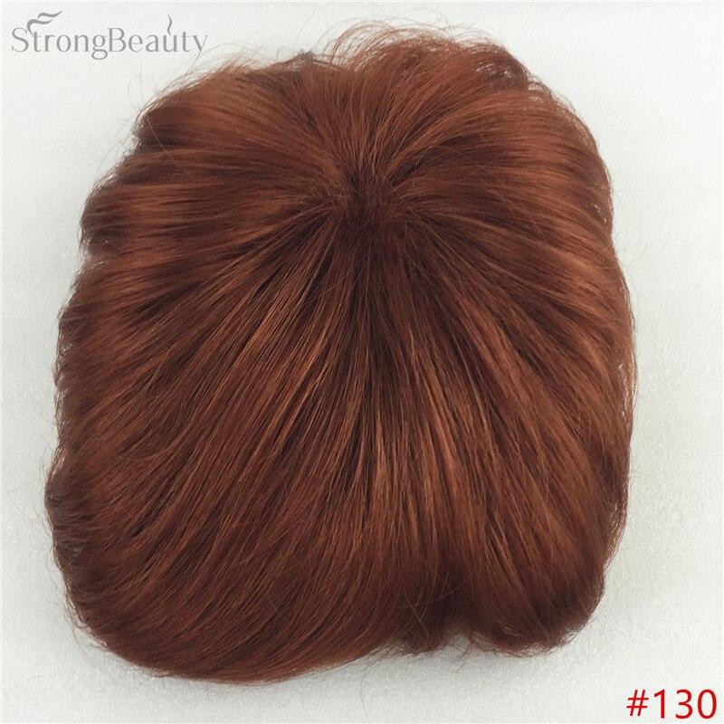 Сильная красота парик синтетические волосы парик выпадение волос топ кусок парики 36 цветов на выбор - Цвет: #130