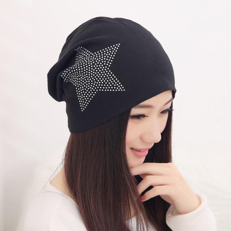 girl beauty beanie designer customized novelty winter hats for women bling crystal pattern casual font b