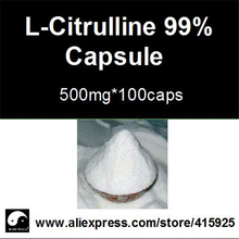 99% L- Citrulline supplements Powder Capsule 500mg*100caps Nutrition Sports Supplements For Men Fitness Health Care Plant Viagra