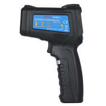 On sale BSIDE BTM21C Infrared Laser Thermometer Color LCD Double Row Display Handhold Test Device K-Type -30-500 LED Hot Sale