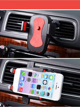 car-styling Universal car air conditioner outlet new GPS car phone 360 Degree Rotation mobile phone holder for iPhone 6s xiaomi(China)
