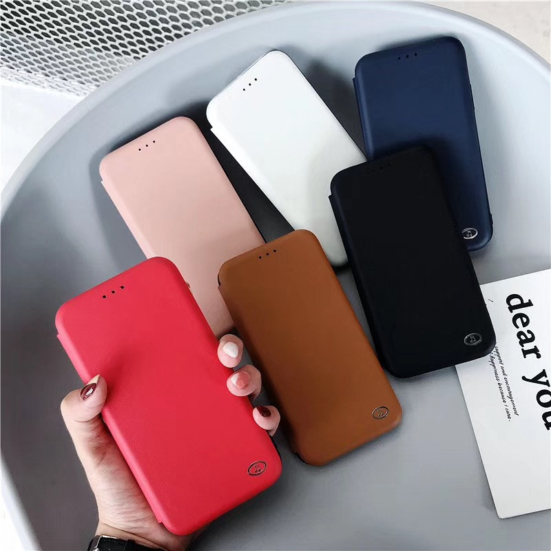 Luxury Business Flip Holster Case For Iphone XR With Classic Card Slot Design For Iphone6S 8 8P XS XSMAX Back Cover Capa Fundas in Fitted Cases from Cellphones Telecommunications