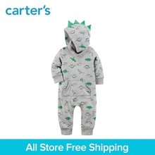 Carter's baby children kids clothing boy spring&summer Spike Jumpsuit Crafted soft French terry cotton 3D spike 118H960