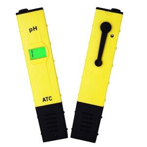 10 pçs/lote Backlight precisão 0.01 Acidez Ácido Água medidor de PH Digital Tester ph Aquário medidor de ph digital de 30% de desconto
