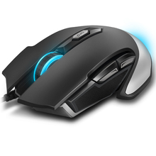 Original Rapoo V310 Wired Gaming Mouse USB LED Lights Mouse Gamer 8200 DPI with 6 Button
