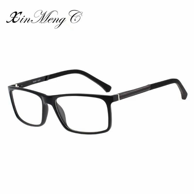 f54db05db8 XinMengC High Quality TR90 Eyeglasses Frame Women Men Prevention Myopia  Glasses 2018 Fashion Eyewear Oculos De Grau -in Eyewear Frames from Men s  Clothing ...