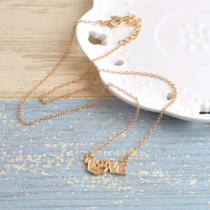 I Love Paw Necklace 10