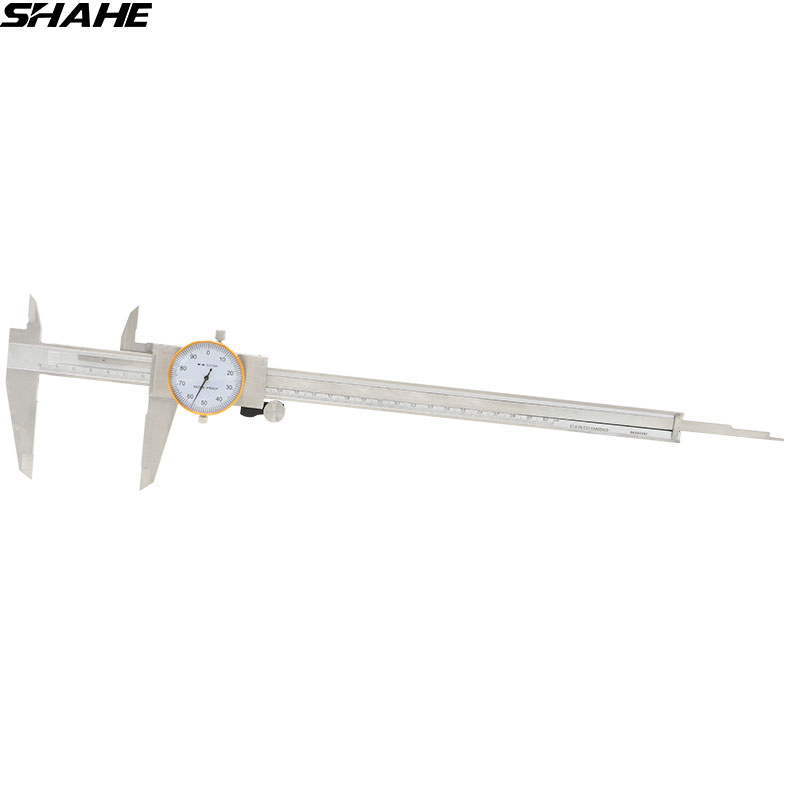 SHAHE Stainless steel Vernier Caliper Gauge 0 01 Double Shock proof Dial caliper 300 mm Measuring