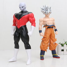 30 cm Tamanho Grande Anime Dragon Ball z Super Jiren Instinto de Ultra Son Goku dragonball Goku PVC Action Figure Collectible brinquedos modelo(China)