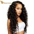 Malaysian virgin hair deep wave 4 bundle deals wet and wavy tissage deep curly hair wave Malaysian deep wave human hair wave