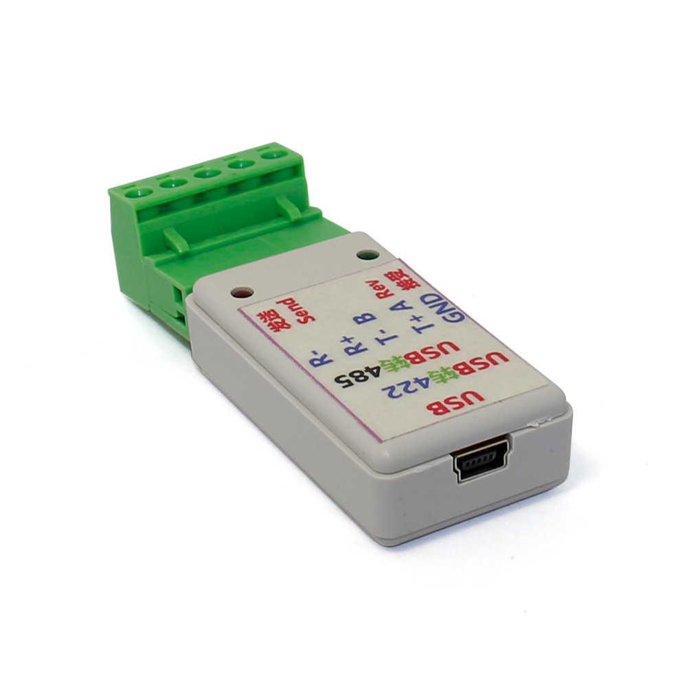 2 في 1 USB إلى RS422 RS485 تحويل محول مع CH340T دعم 64b Win7 لينكس G21