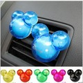 2pcs Hotsale Auto Supplies Incense Ball Mickey Outlet Car Perfumes Seat Styling Air Freshener Magic Fragrance001