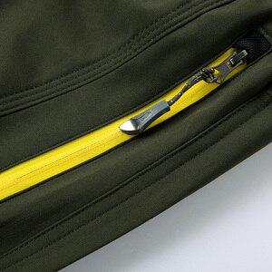 Image 5 - WWKK 야외 하이킹 전술 방수 바지 남성 등산 빠른 건조 낚시 트레킹 Softshell Trousers New wanderhose