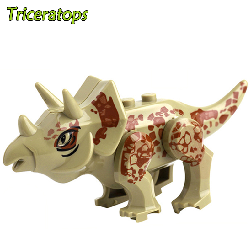 Jurassic World Dinosaur Bricks Mini Model block Building Blocks Baby Toys For Kids Children Birthday Gifts Education brinquedos 2 sets jurassic world tyrannosaurus building blocks jurrassic dinosaur figures bricks compatible legoinglys zoo toy for kids