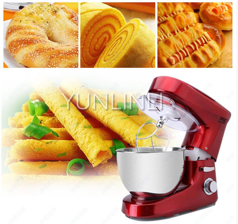 6L Electric Dough Mixer Dough Maker Machine Egg Stirring Beater Dough Mixer Machine KM-8 Stand Food Mixer
