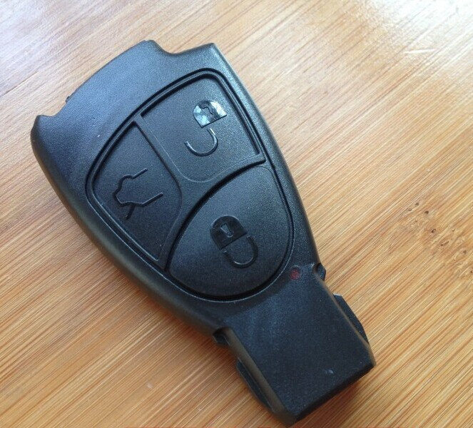 10PCS/lot For Mercedes-Benz W220 CLK CLS C E Smart Card Remote Key Shell Case 3 Button Fob Key Cover