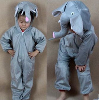 Kids Elephant Costume Child Elephant Costume Elephant Kids Costume Animal Costume For Children