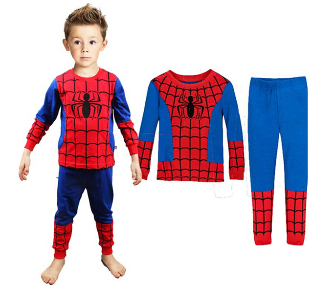 new 2014 spider man children clothing setsfashion spiderman cosplay costume kids pajama sets  sc 1 st  AliExpress.com : spiderman costumes for toddlers  - Germanpascual.Com