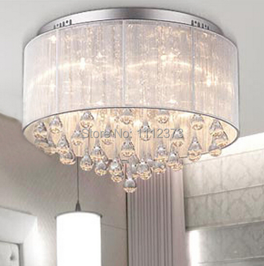 cheap sell dia 45cm modern crystal ceiling lights for bedroom living room sitting room cheap bedroom lighting