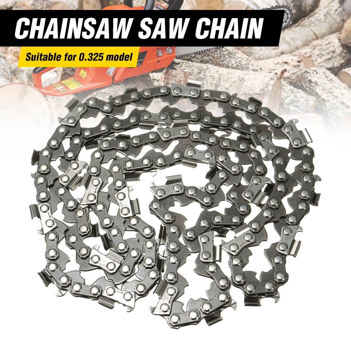 20 76 Links Replacement Chainsaw Saw Mill Ripping Chain For Timberpro 62CC  for 0.325 Model Surface Smooth for Cutting Lumber20 76 Links Replacement Chainsaw Saw Mill Ripping Chain For Timberpro 62CC  for 0.325 Model Surface Smooth for Cutting Lumber